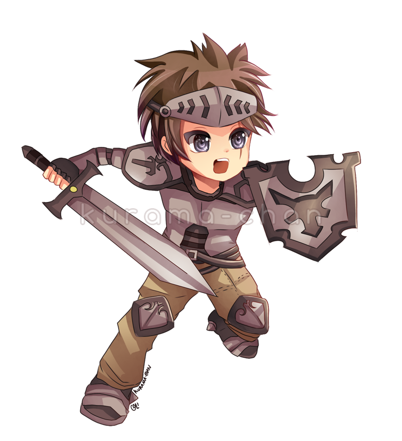 Anime clipart warrior For commission  commission GuardianBR