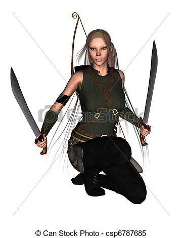 Warrior clipart female warrior Female Warrior Female drawings clipart
