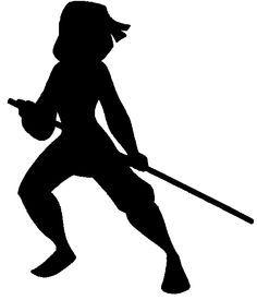 Warrior clipart silhouette Google Silhouettes Disney silhouette warrior
