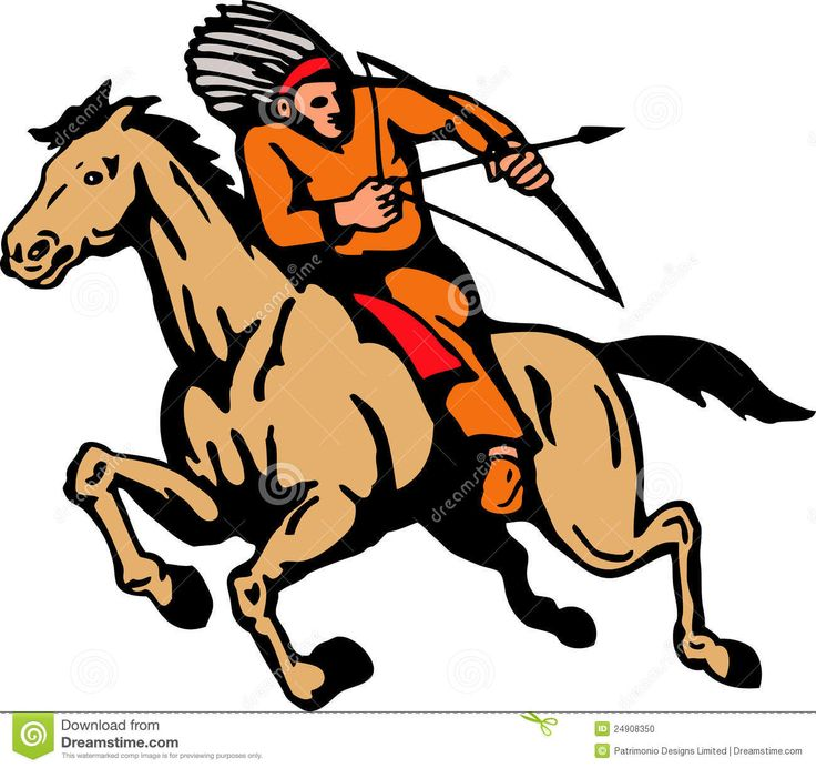 Horse Riding clipart native american Riding Horse Riding mural Arrow