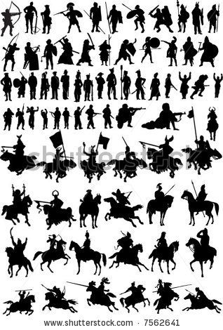 Warrior clipart war horse And best Pin Knights more