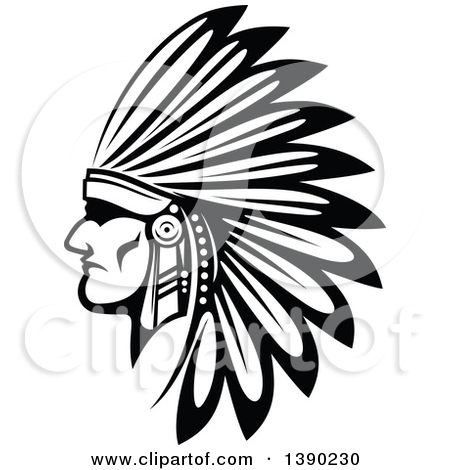 Chief clipart warrior head Small warrior head head warrior