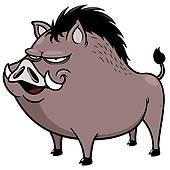 Boar clipart warthog · Clip Free GoGraph Warthog