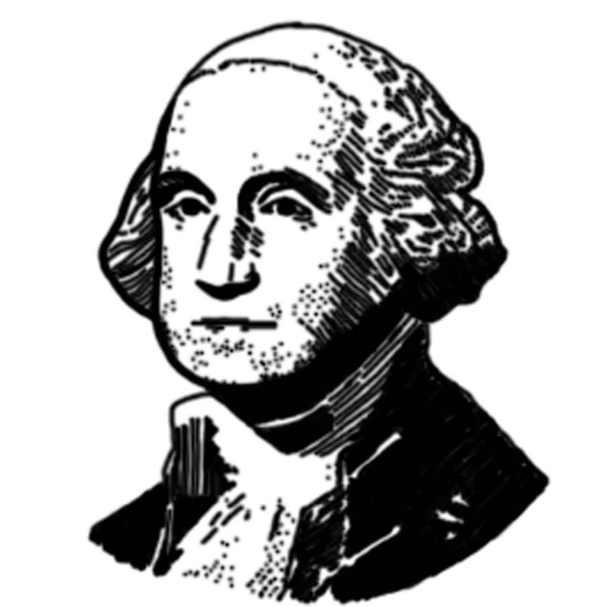 Washington clipart Washington 1200x1200 Resolution  President