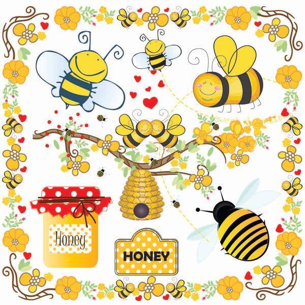 Bee Hive clipart tree clip art Bee Clip Bee Buzzy Clip