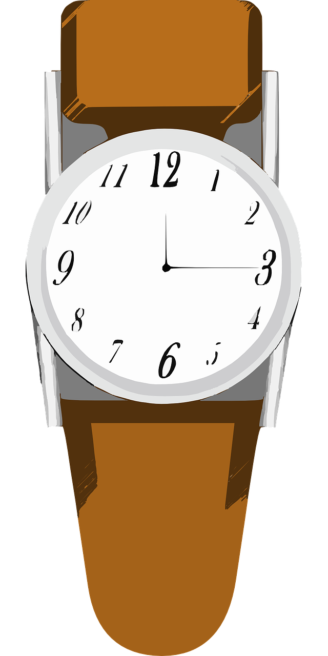 Watch clipart Simple Wristwatch Clip Use Clip