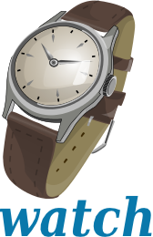 Watch clipart W Label Download Wrist Art