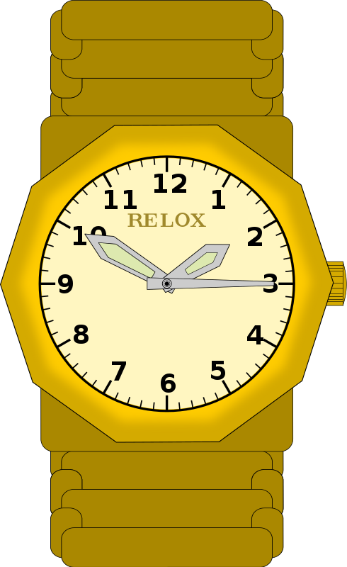 Watch clipart Watch Vintage Clip on Free
