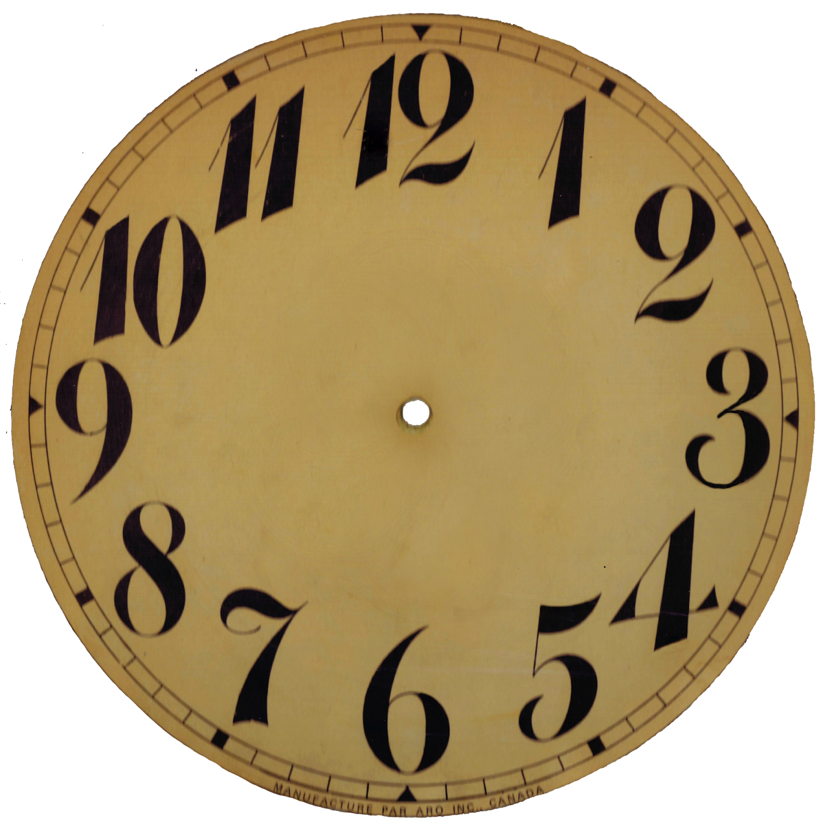 Watch clipart blank Templates Blank Clock Free Vintage