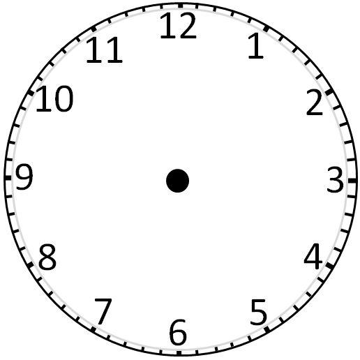 Watch clipart blank Best ClipArt Clockface: Blank Blank