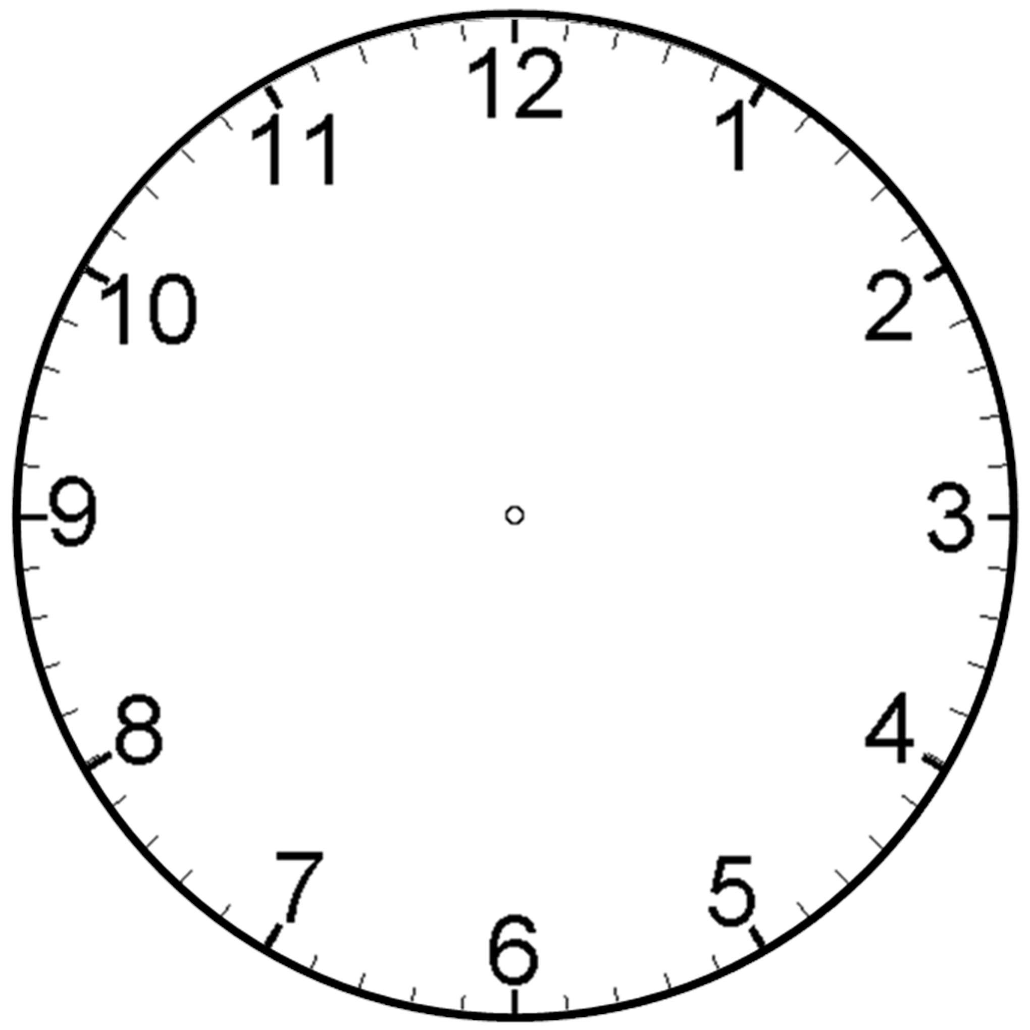 Watch clipart blank Best Blank Blank Tattoo Clock