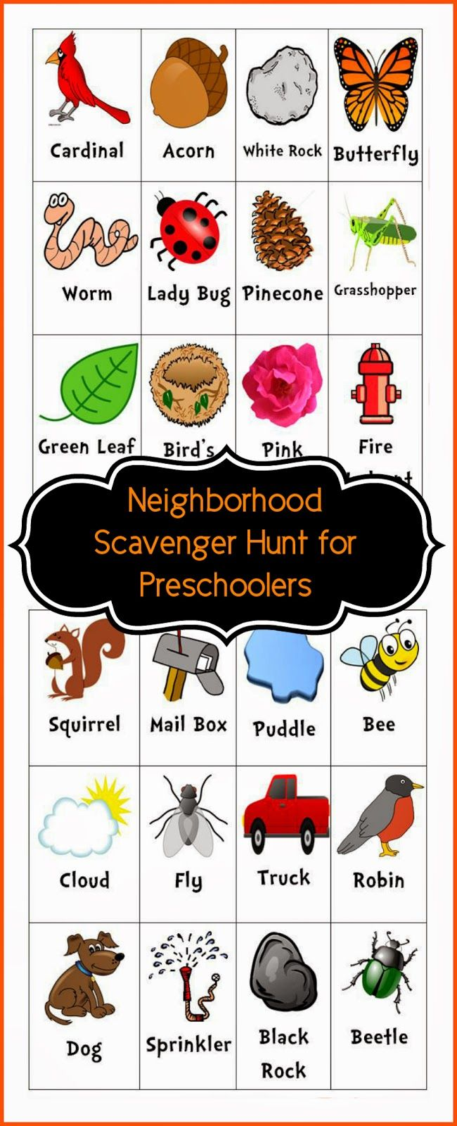 Watch clipart bored kid Scavenger Bored Printable on (Toddlers