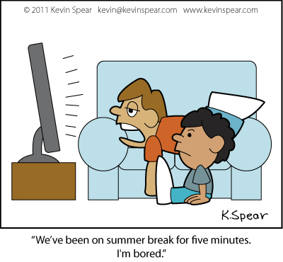 Watch clipart bored kid New H Bored  Kevin