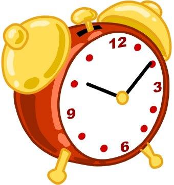 Colouful clipart alarm clock #7