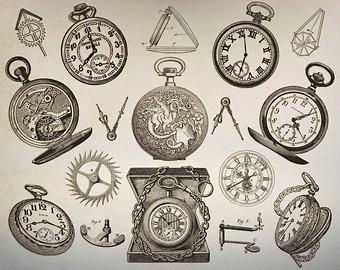 Pocket Watch clipart timepiece Clipart contains Art