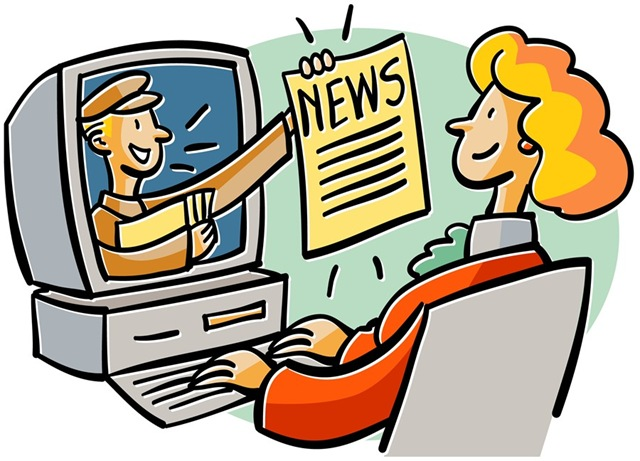 Watch clipart the news A Just day the was