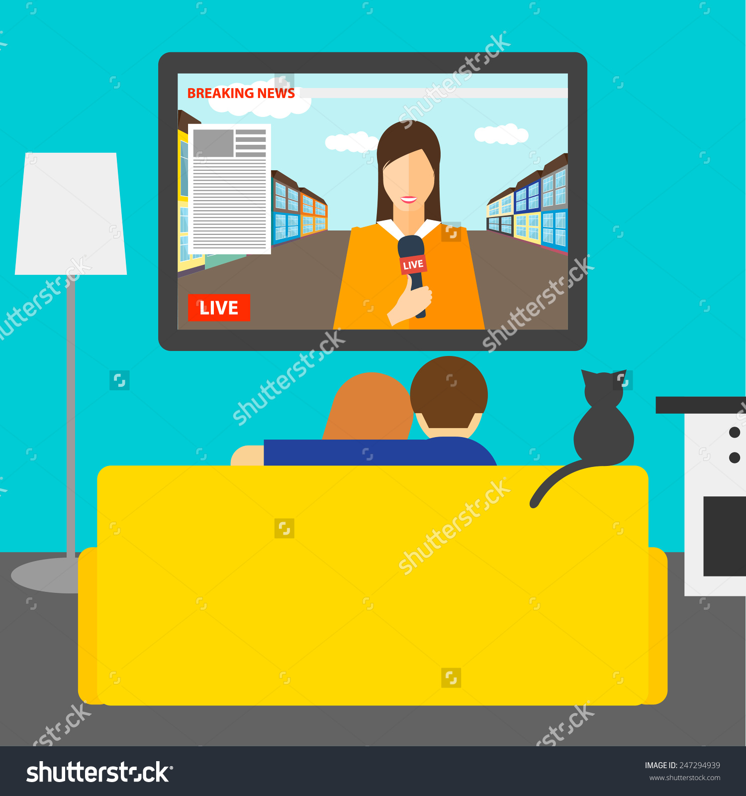 Watch clipart the news Clipart news the clipart Watching