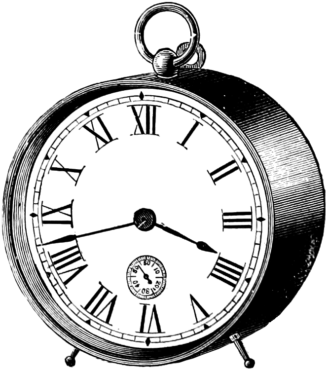Watch clipart vintage clock Free Art Oh Clip So
