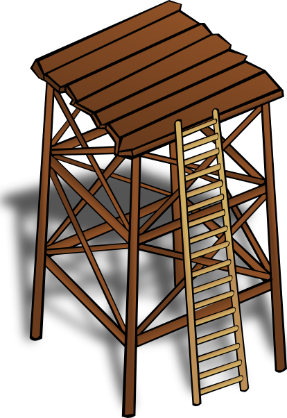 Watchtower clipart Clip image Watchtower art this