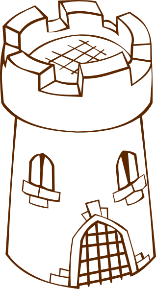 Watchtower clipart Tower image Round clip this
