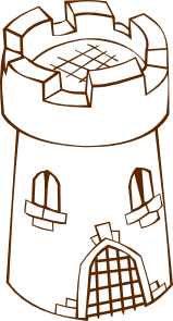 Tower clipart art #14