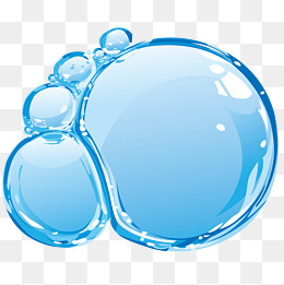 Water Blister clipart border Dynamic downloads bath free bubble