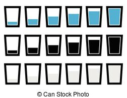 Mug clipart full cup Clipart Illustrations glass collection glasses