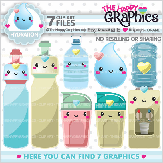 Bottle clipart hydration 80%OFF Hydration Clipart Graphics COMMERCIAL