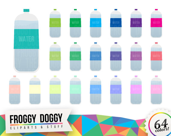 Bottle clipart hydration Clipart  Bottle Planner on