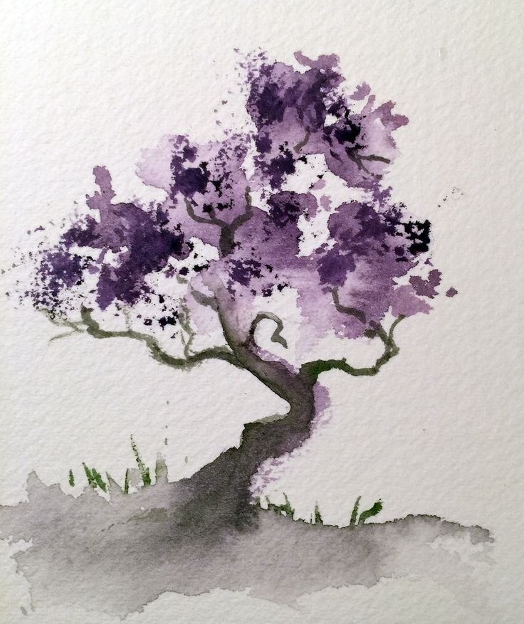 Water Color clipart art class Watercolor Watercolor to Tree little