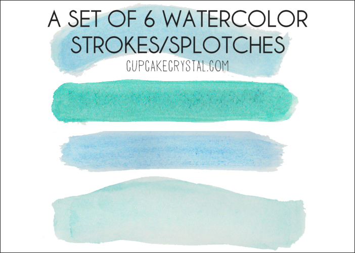 Brush clipart drawing material  Watercolor strokes Brush Design