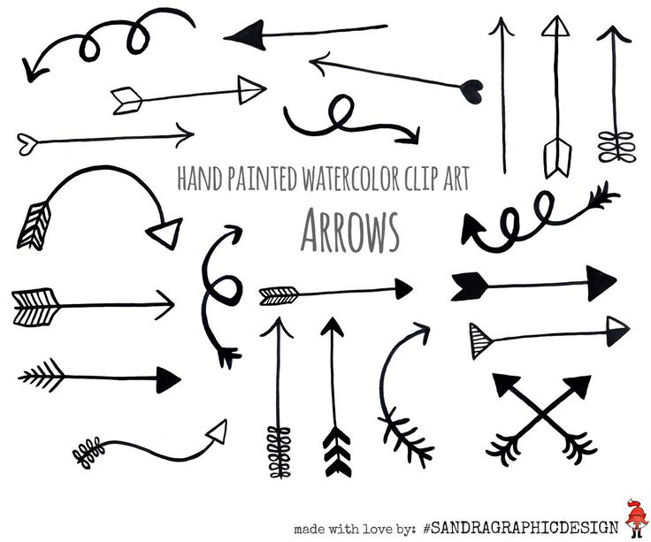 Water Color clipart black and white Clip