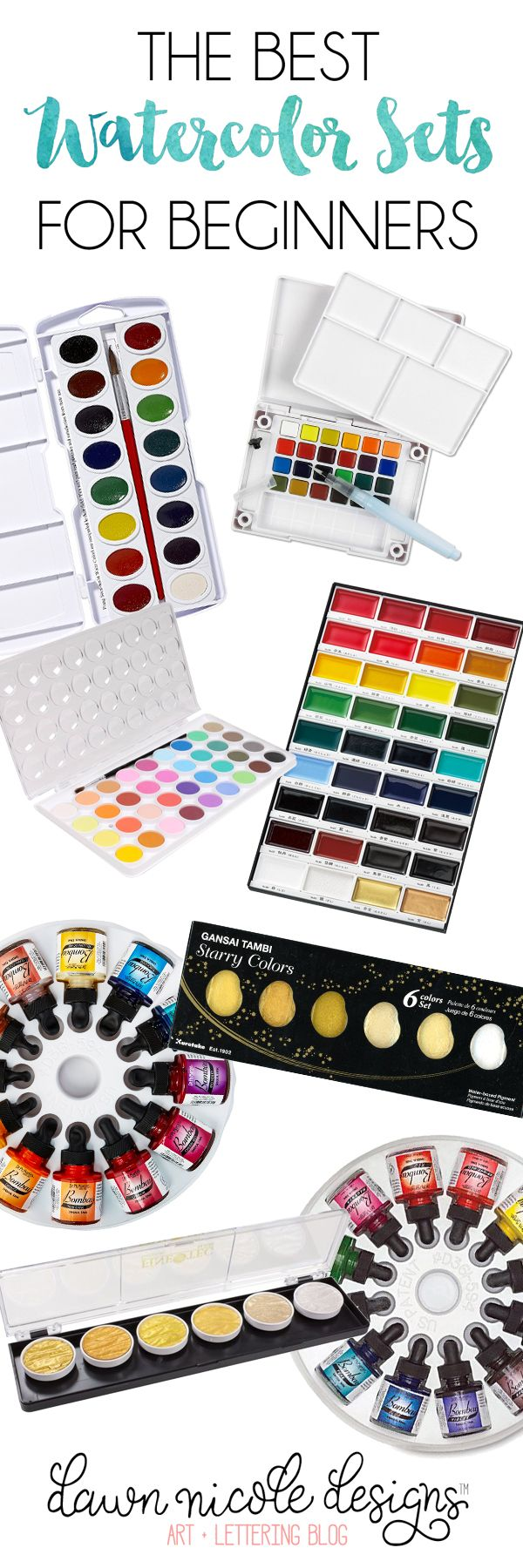 Water Color clipart paint set Beginners ideas on Sets Best