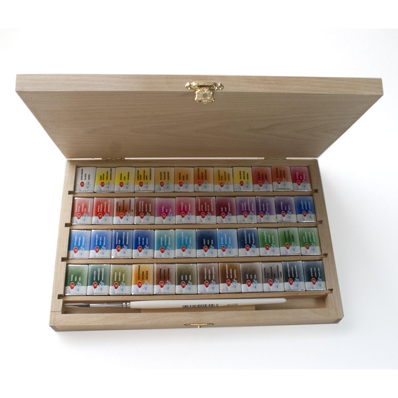 Water Color clipart paint set Pans Watercolor Box Watercolor 48