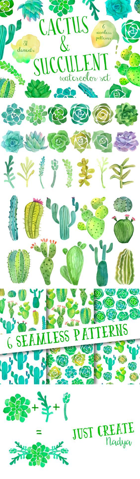 Water Color clipart painter tool Clip by succulent Pinterest TOOLS