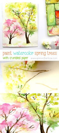 Water Color clipart painter tool Trees Tree Autumn Autumn and