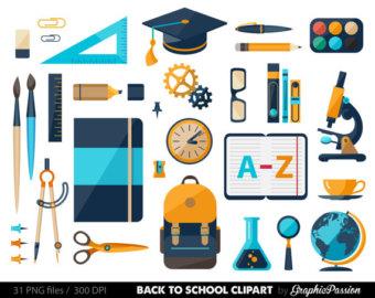 Water Color clipart school thing Clipart supplies teacher School Kids