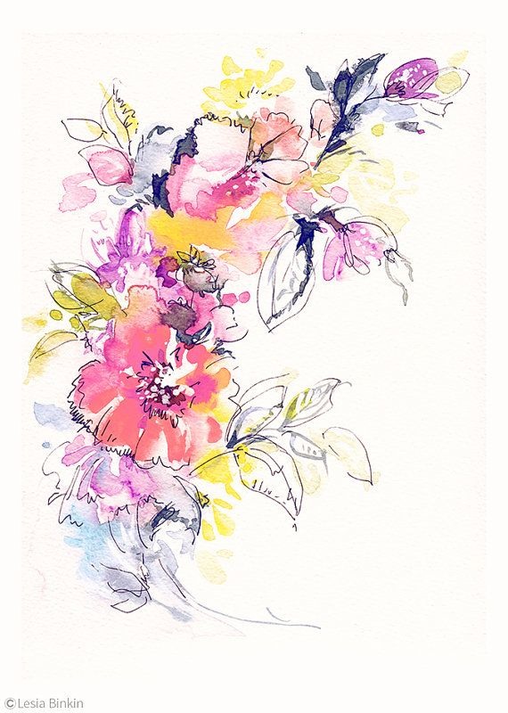 Water Color clipart wall painting #11