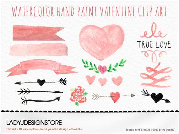 Water Color clipart watercolour Wedding Clip invitation elements design
