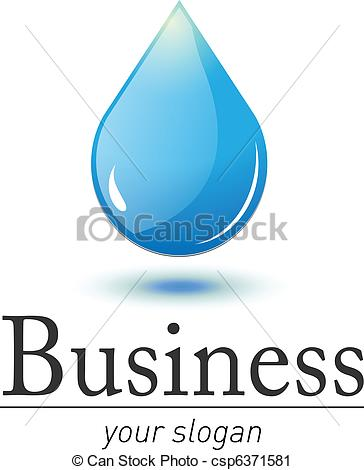 Water Droplets clipart fresh water Drop of Logo water 3D