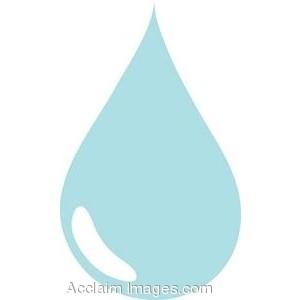 Water Droplets clipart single Clip Art Clip Drop Art