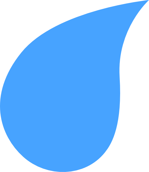 Water Droplets clipart blue thing #2