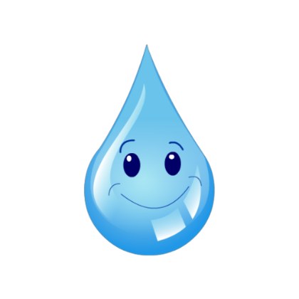 Water Droplets clipart happy #9