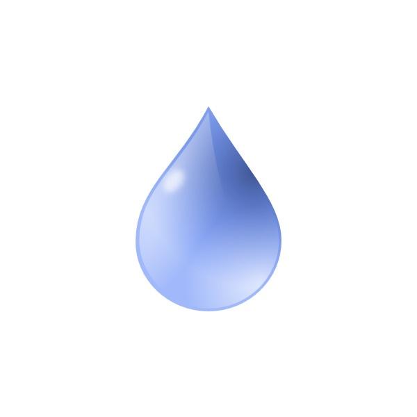 Water Droplets clipart teardrop ❤ online clipart drop 600x600