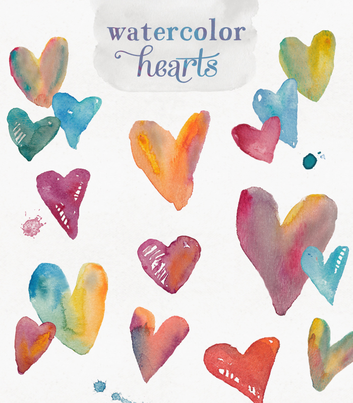 Number clipart watercolor Watercolor watercolor clip com Clip