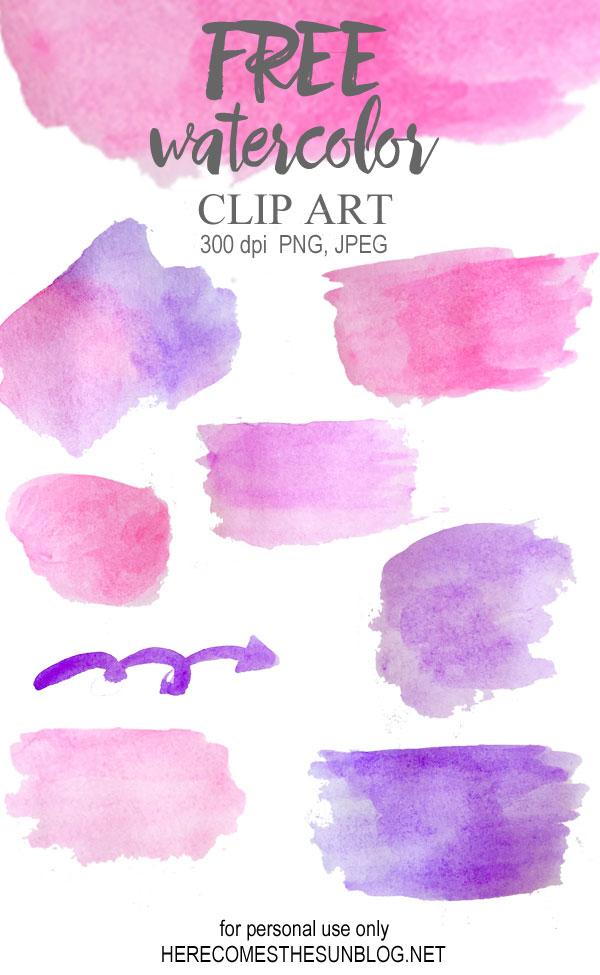 Watercolor clipart Watercolor perfect Clip creating digital