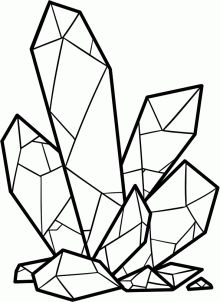 Drawn crystal How crystal Pinterest watercolor to
