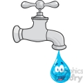 Waterdrop clipart animated #10