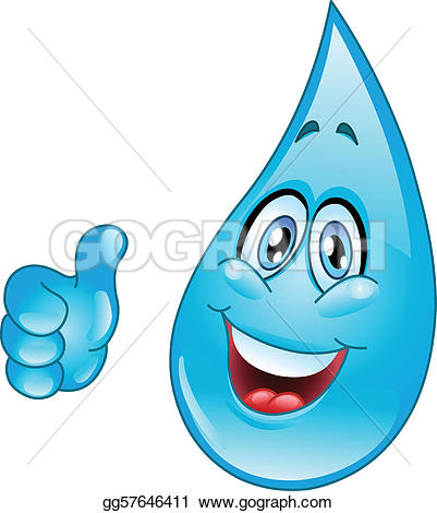 Waterdrop clipart animated #5