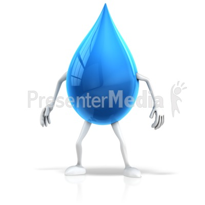 Waterdrop clipart animated #4